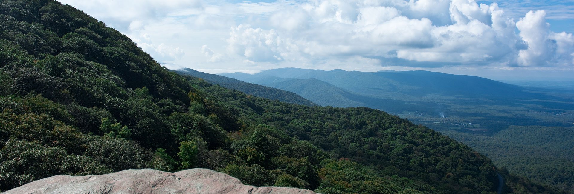 Humpback Rock on the Blue Ridge Parkway in Virginia